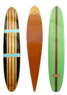 Vintage california surf board
