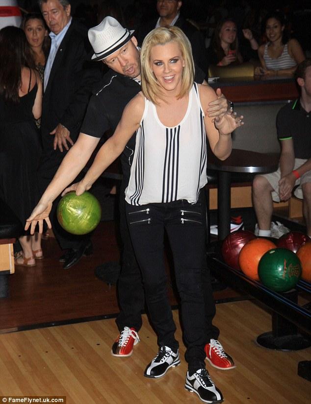 bowling Busty balls girl