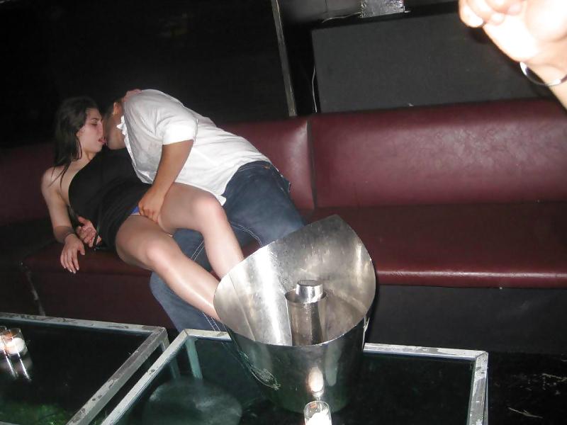 Drunk slut wife in public