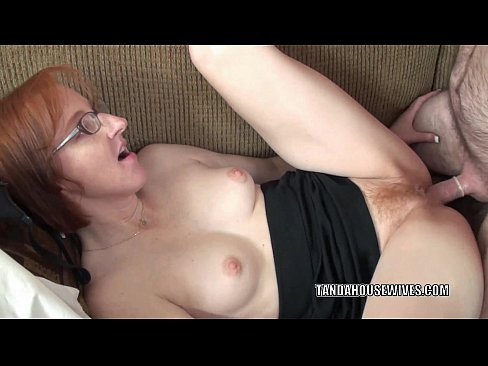 Mature redhead pussy and fucks her