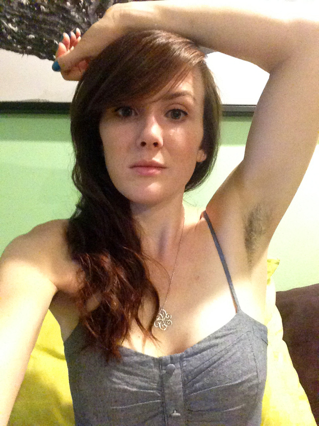 armpits hairy My wife