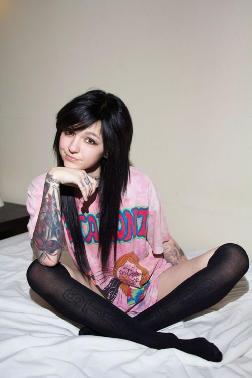 Sexy tattoos emo scene girls nude
