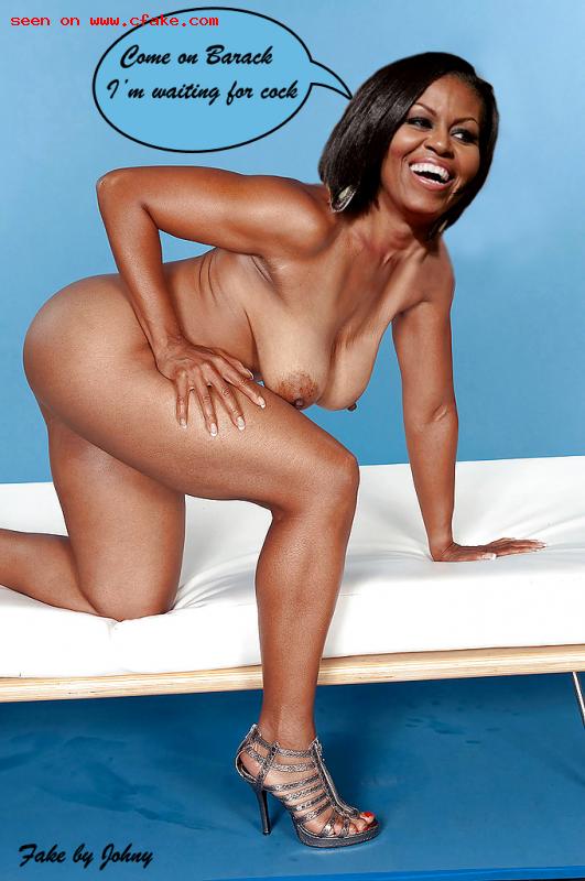 Michelle obama fake porn