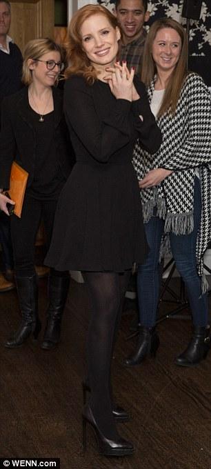 Jessica black opaque pantyhose