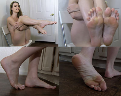 fantasy Stocking foot fetish