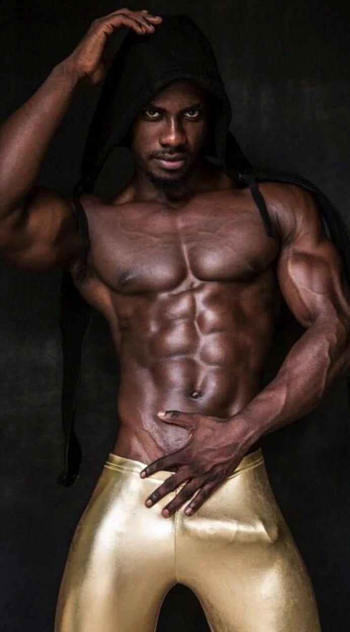 Gay naked old black man
