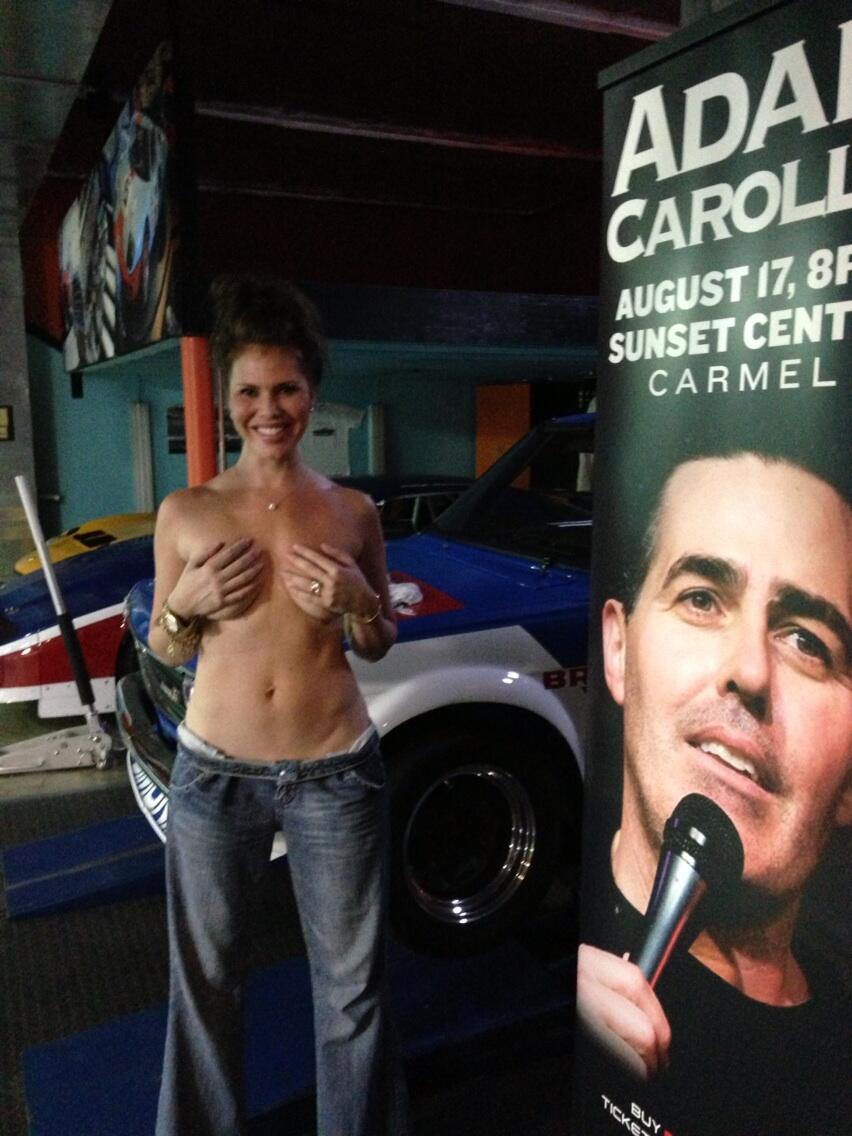 Nikki cox topless
