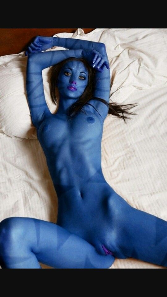Avatar naked alien girl