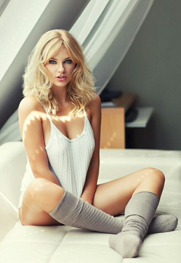Really. blondes with socks naked hot what here