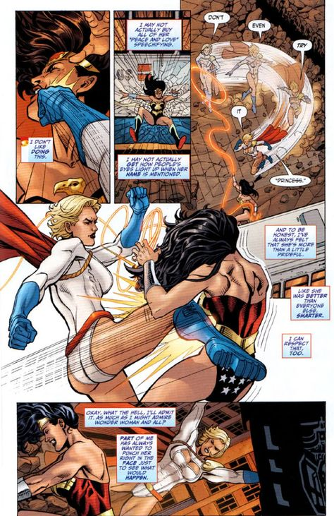 Power girl vs venom