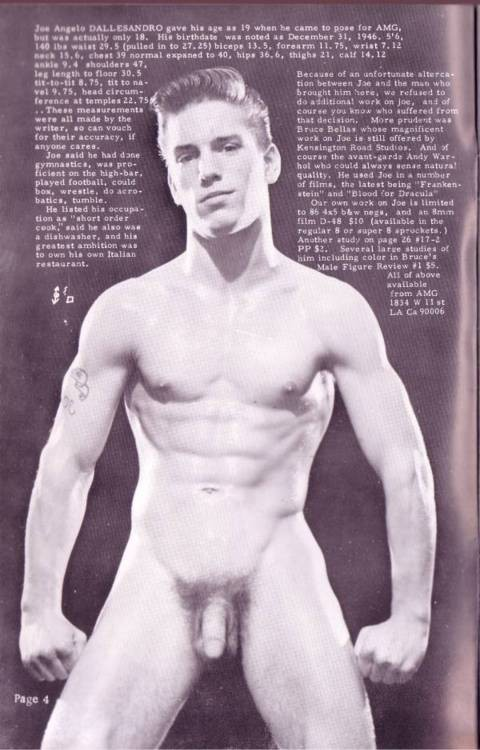 naked Nude joe dallesandro
