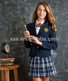 British college girl uniform