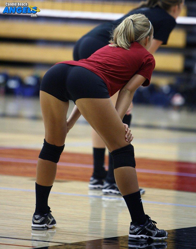 ass Sexy volleyball girls
