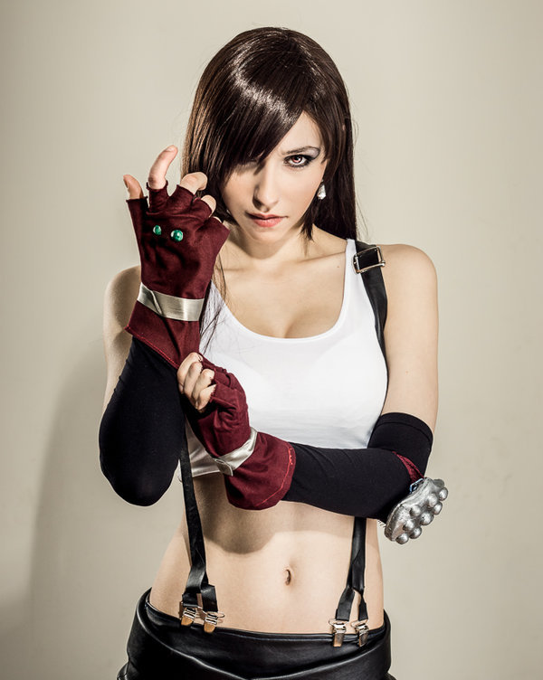 Final fantasy tifa cosplay nude