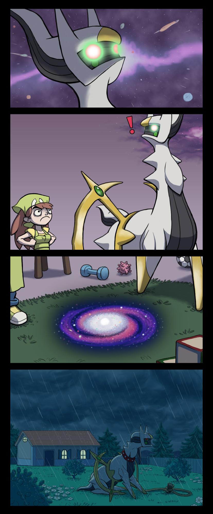 Pokemon arceus meme