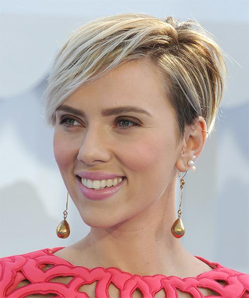 hair Scarlett johansson
