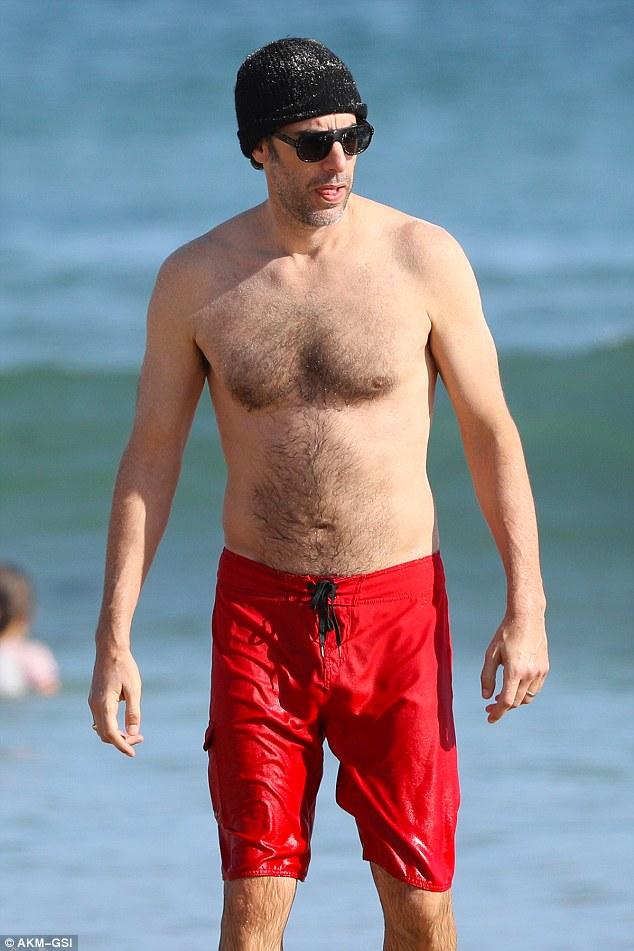 Sacha baron cohen borat naked