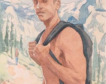 Latin bare mountain boys