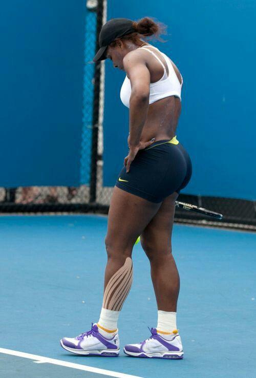 Serena williams booty