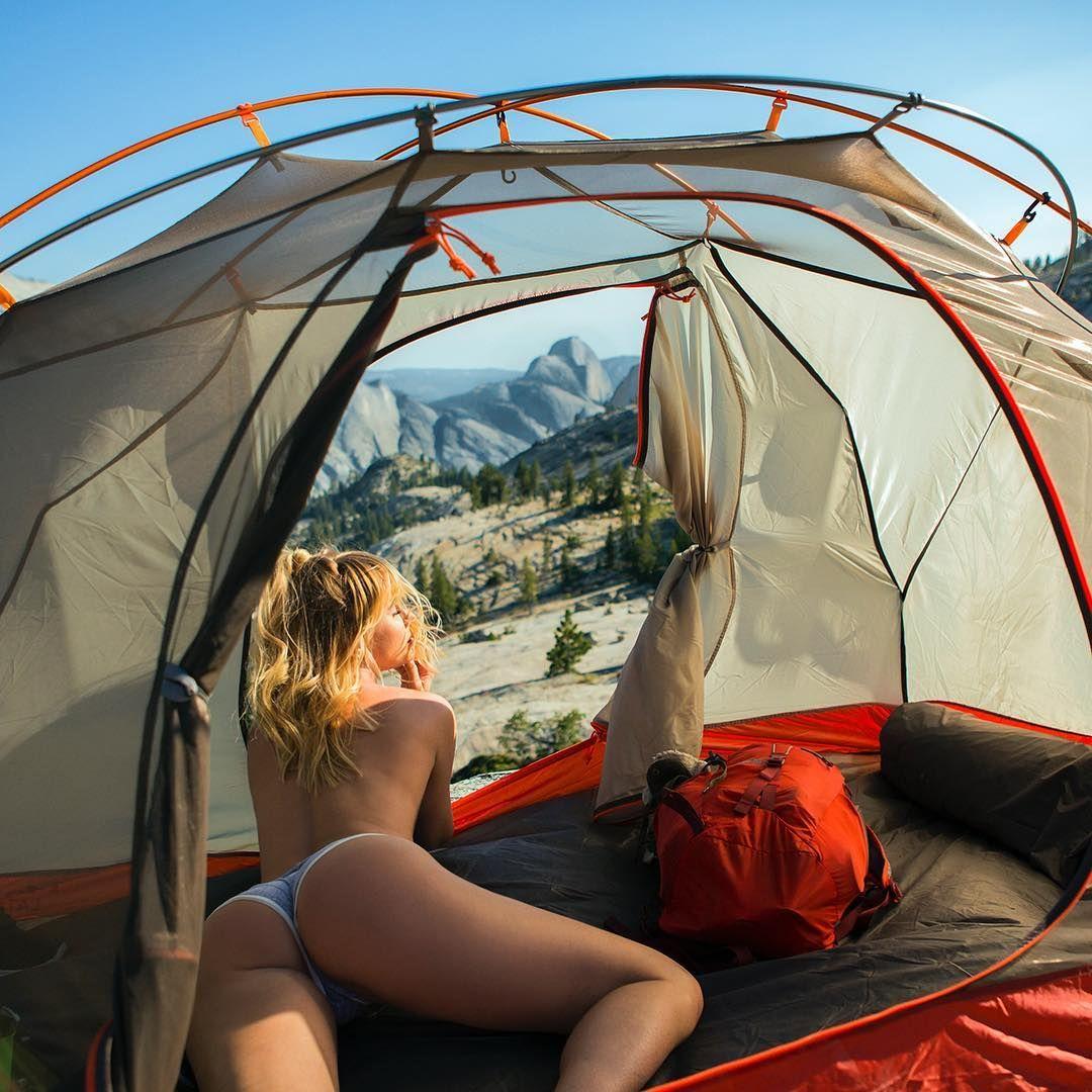 Real teens camping