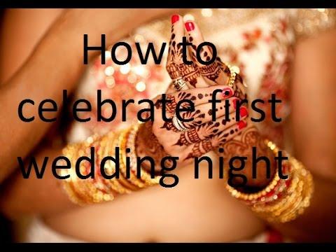 Wedding first night sex