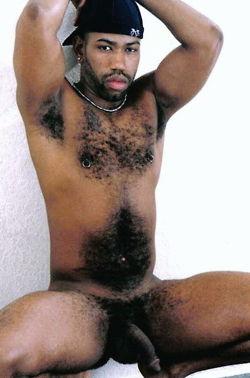 Hairy black men gay porn