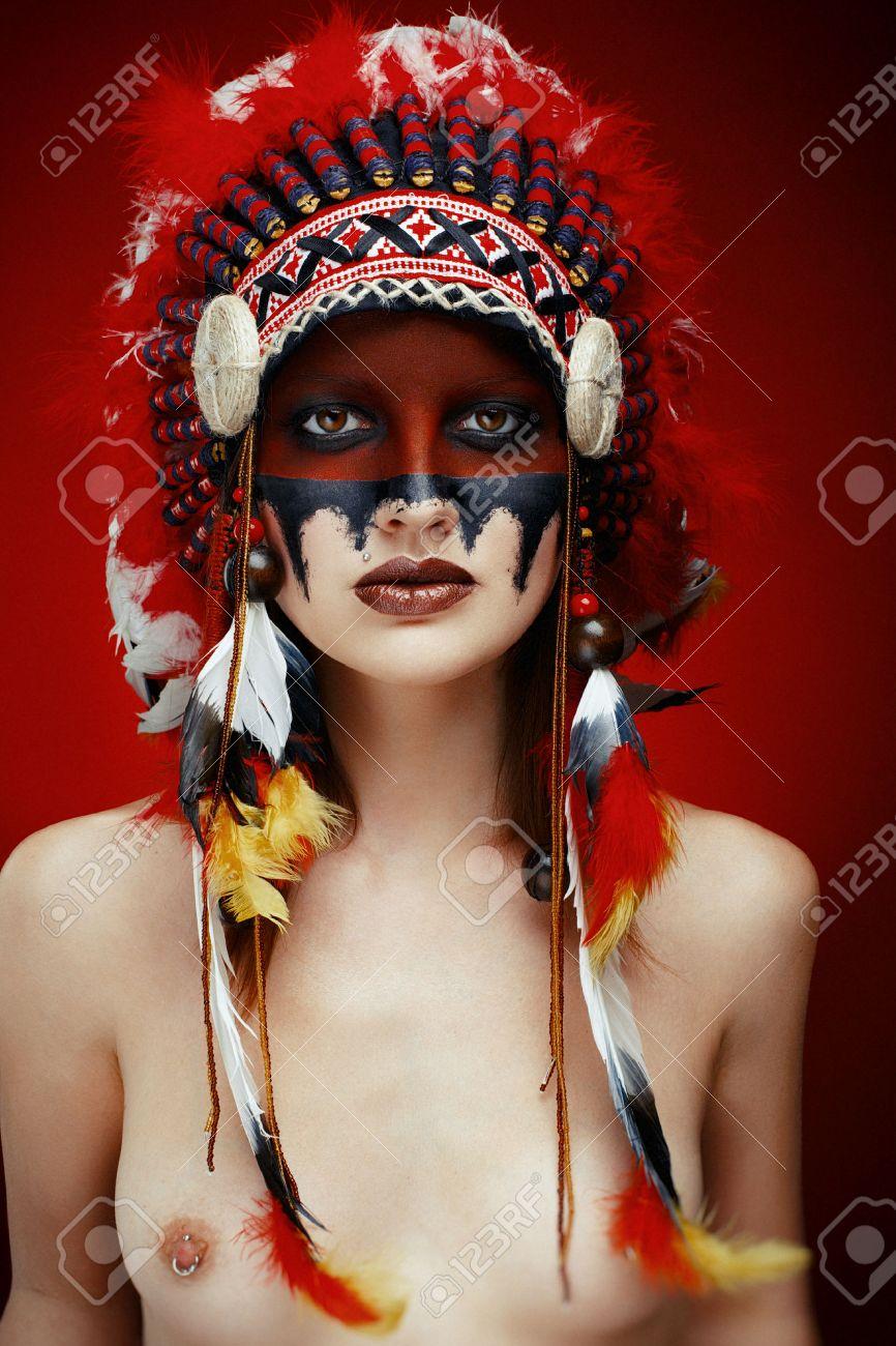 Native american indian nude