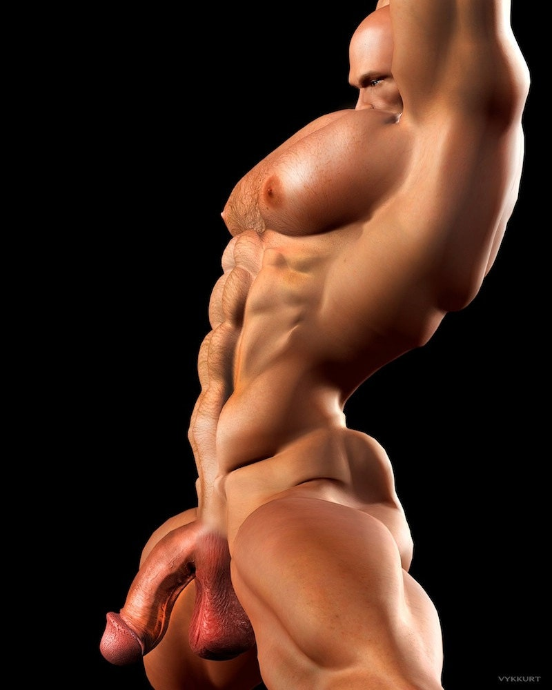 Gay male bodybuilders naked