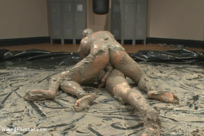 Naked mud wrestling sex