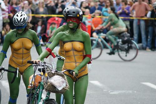 Naked ninja turtles nude