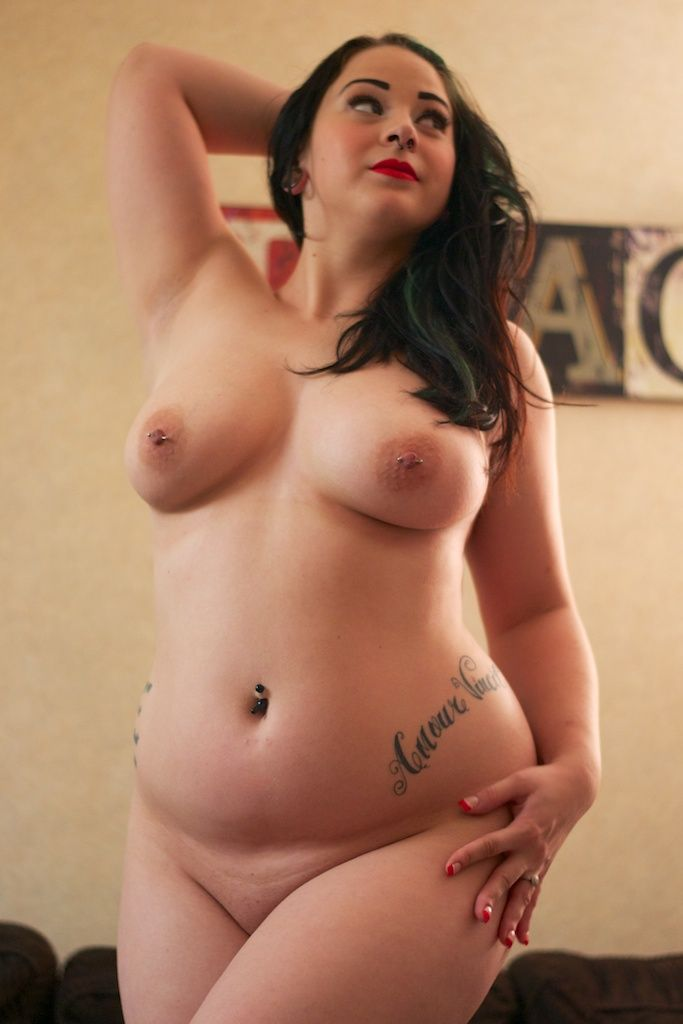 Cute bbw goth girls nude