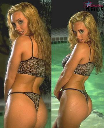 Coco austin butt crack