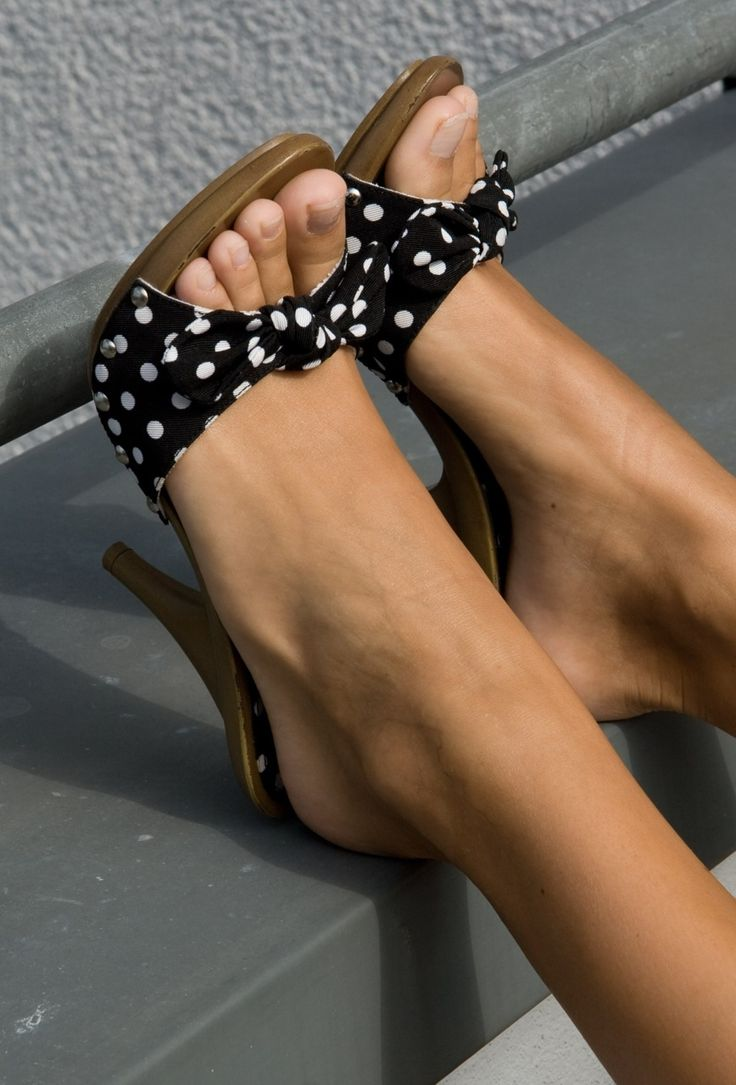 Sexy feet in high heels fetish