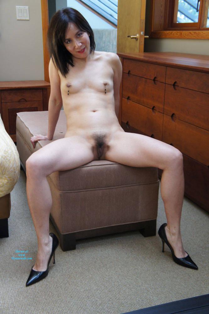 Naked girls hairy bush nude