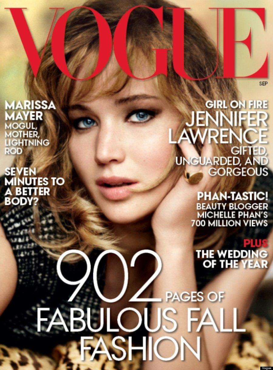 lawrence vogue Jennifer