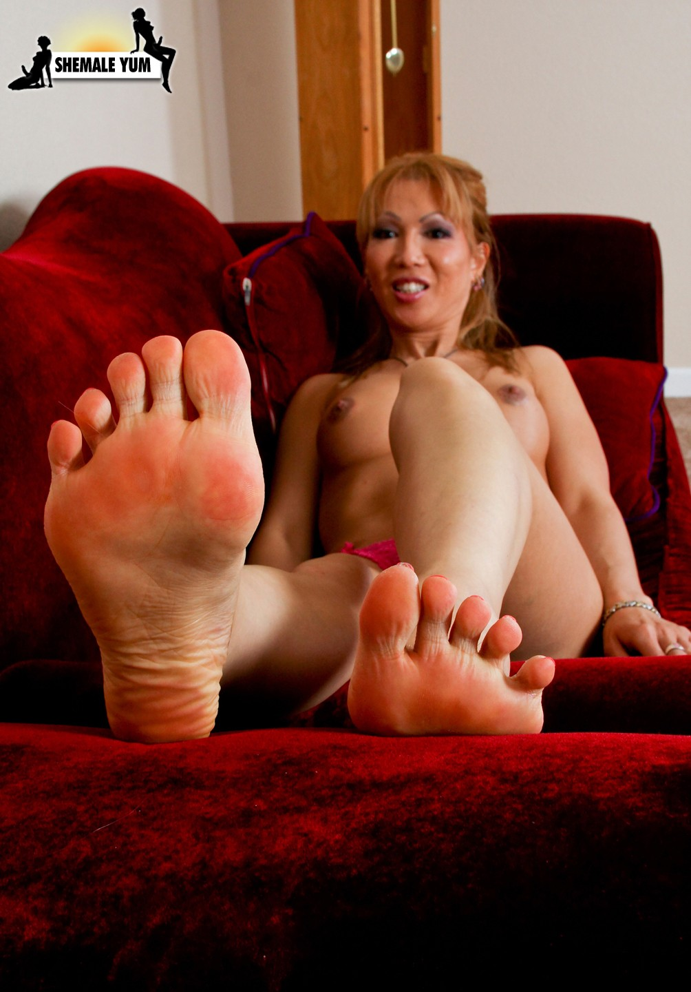 Shemale feet soles