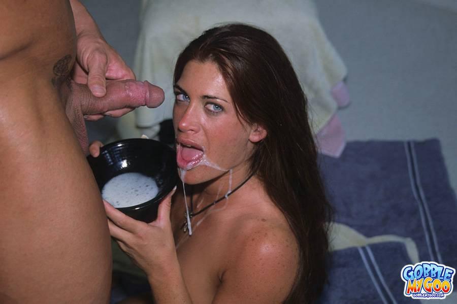 Cum eating sluts